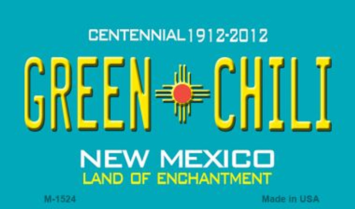 Green Chili New Mexico Novelty Magnet