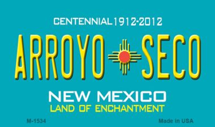 Arroyo Seco New Mexico Novelty Magnet