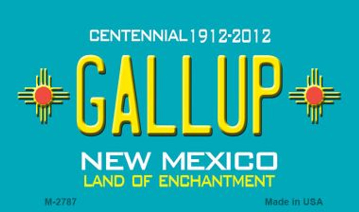 Gallup New Mexico Novelty Magnet