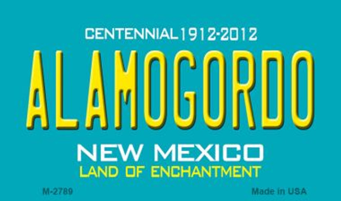 Alamogordo New Mexico Novelty Magnet