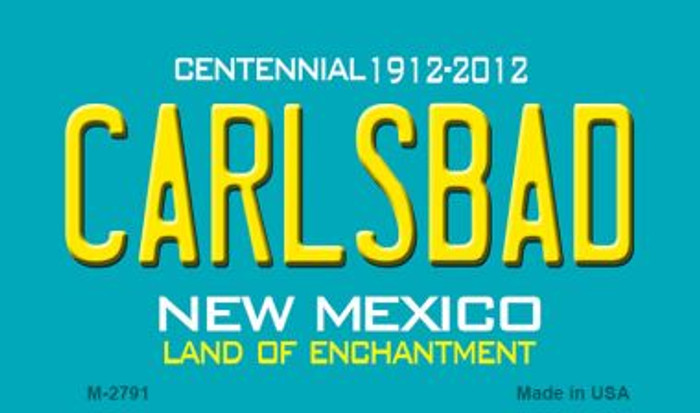 Carlsbad New Mexico Novelty Magnet