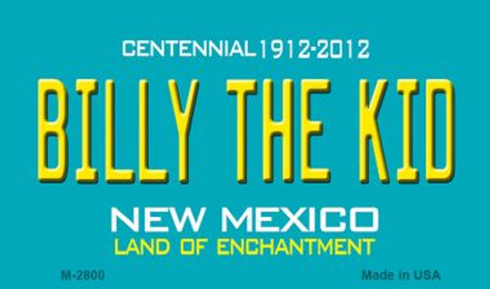 Billy The Kid New Mexico Novelty Magnet