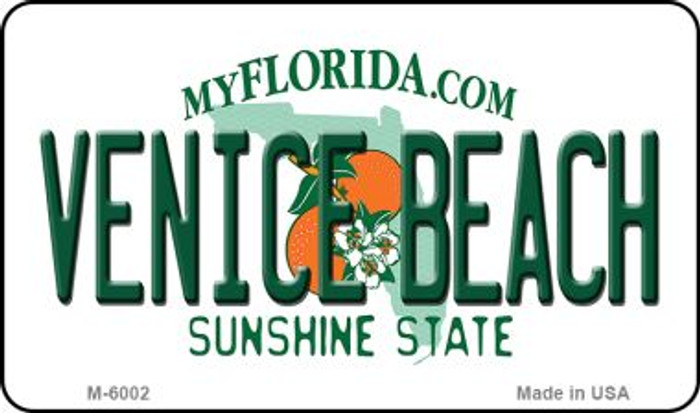 Venice Beach Florida State License Plate Magnet M-6002