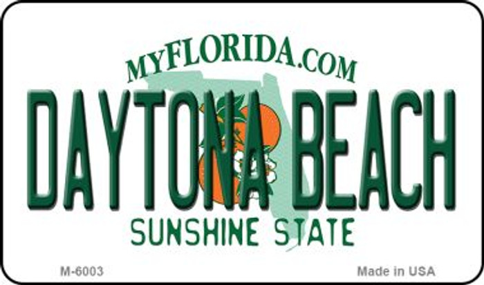 Daytona Beach Florida State License Plate Magnet M-6003
