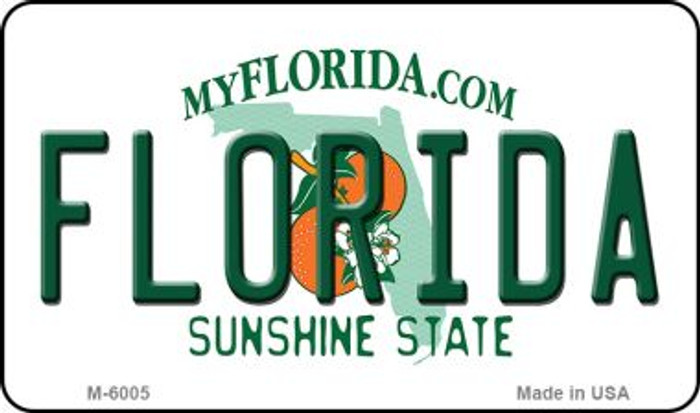 Florida State License Plate Magnet M-6005