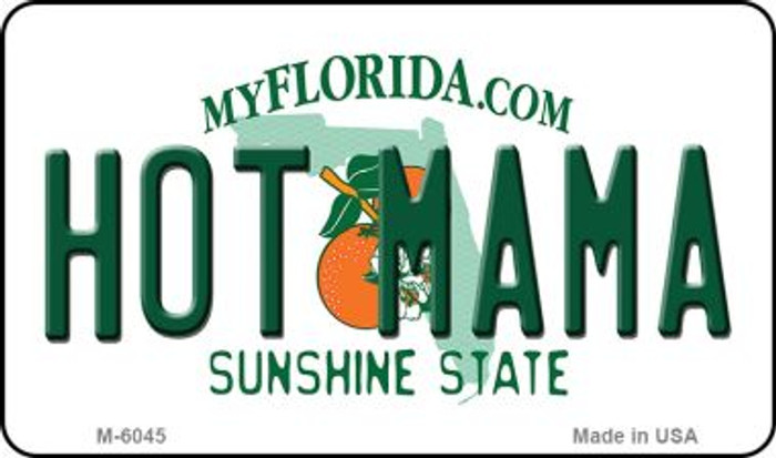 Hot Mama Florida State License Plate Magnet M-6045
