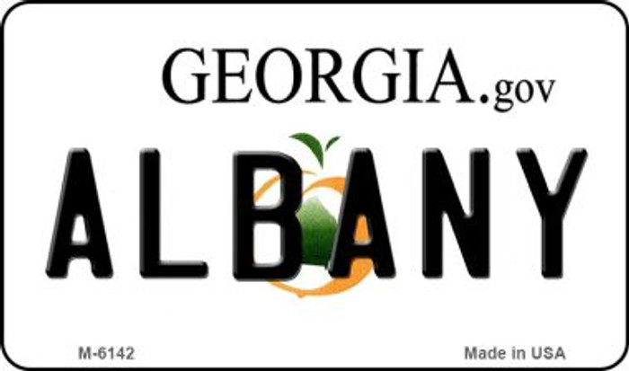 Albany Georgia State License Plate Novelty Magnet M-6142