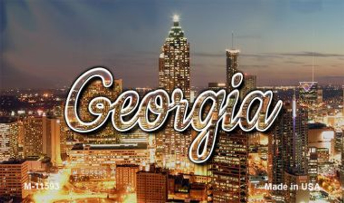 Georgia City Lights Magnet M-11593