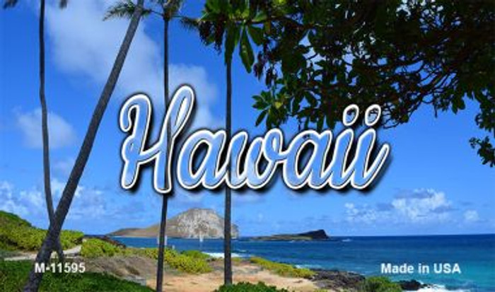 Hawaii Palm Trees Magnet M-11595
