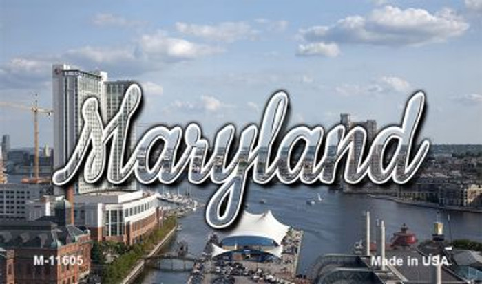 Maryland River Skyline Magnet M-11605
