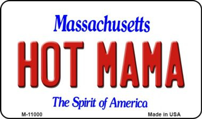 Hot Mama Massachusetts State License Plate Magnet M-11000