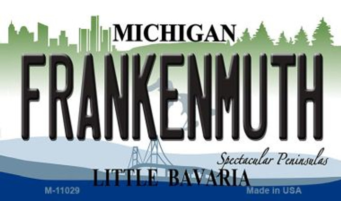 Frankenmuth Michigan State License Plate Novelty Magnet M-11029