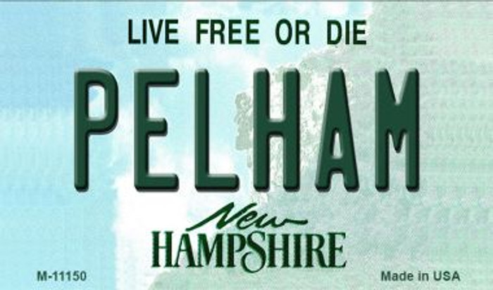 Pelham New Hampshire State License Plate Magnet M-11150