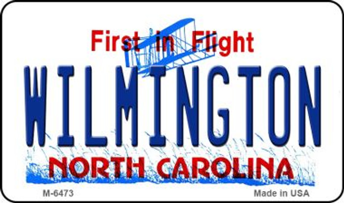 Wilmington North Carolina State License Plate Magnet M-6473