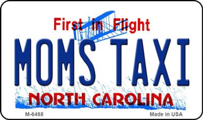 Moms Taxi North Carolina State License Plate Magnet M-6488