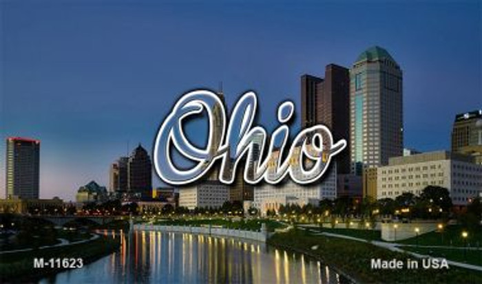 Ohio River City Skyline Magnet M-11623