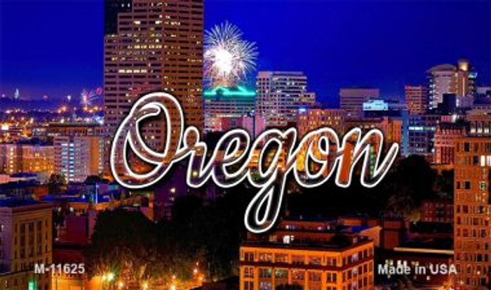 Oregon Firework City Lights Magnet M-11625