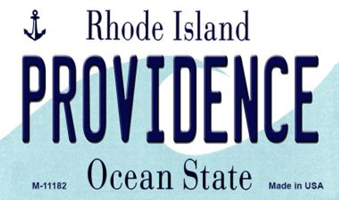 Providence Rhode Island State License Plate Novelty Magnet M-11182