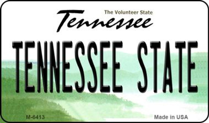 Tennessee State License Plate Magnet M-6413