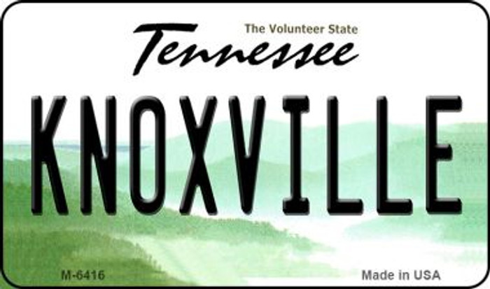 Knoxville Tennessee State License Plate Magnet M-6416