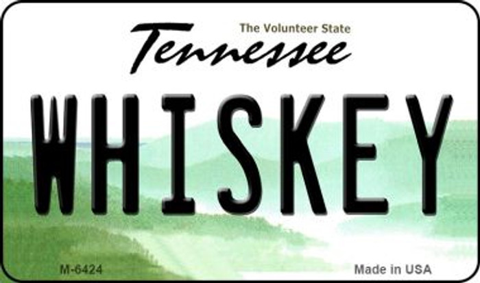 Whiskey Tennessee State License Plate Magnet M-6424