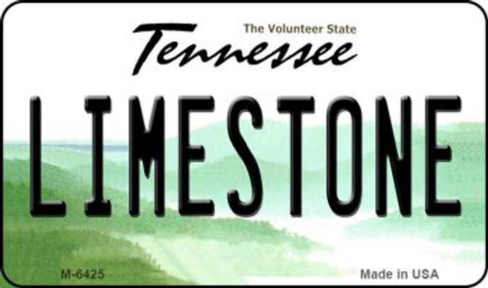 Limestone Tennessee State License Plate Magnet M-6425