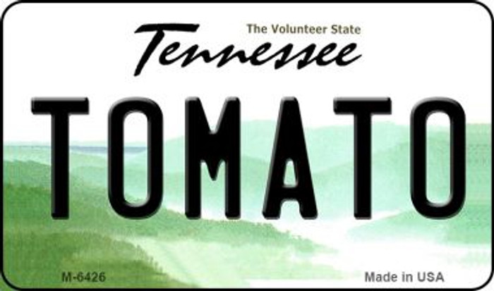 Tomato Tennessee State License Plate Magnet M-6426