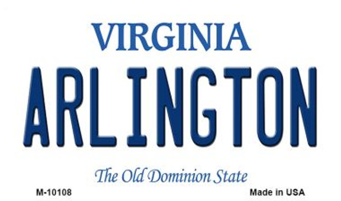 Arlington Virginia State License Plate Magnet M-10108