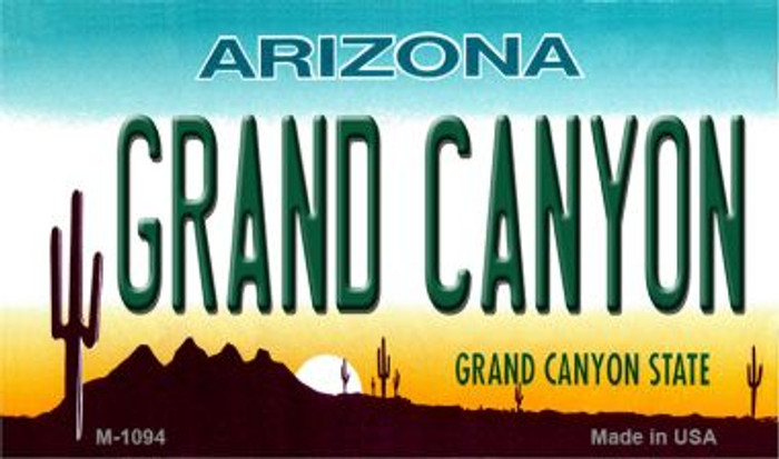 Grand Canyon Arizona State License Plate Magnet M-1094