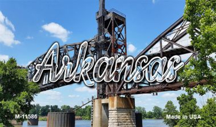 Arkansas Rusty Bridge Magnet M-11586