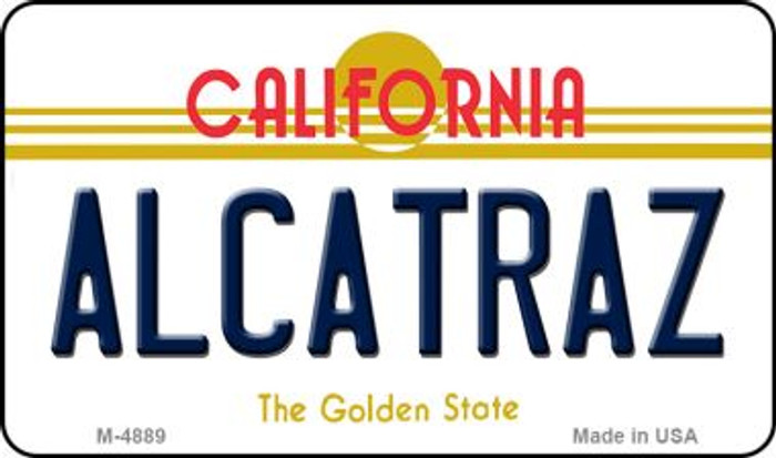 Alcatraz California State License Plate Magnet M-4889