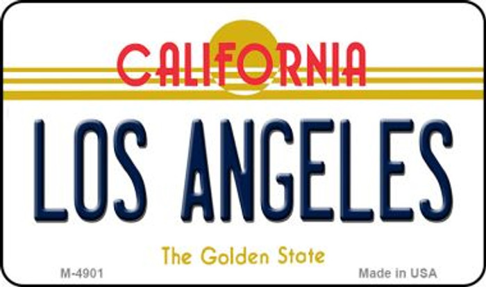 Los Angeles California State License Plate Magnet M-4901