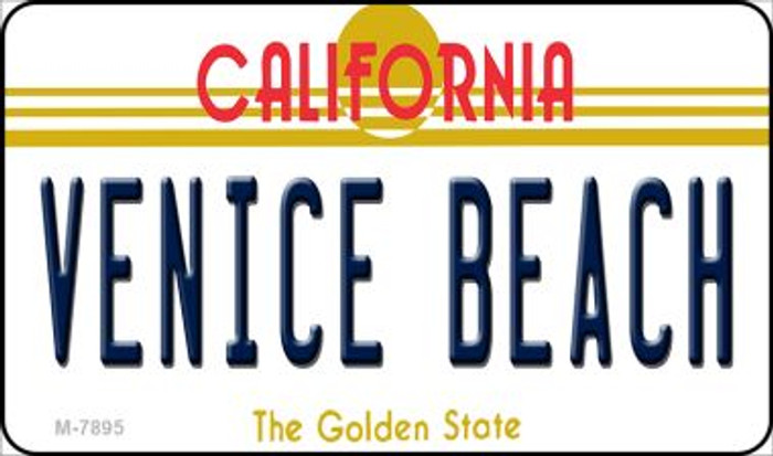 Venice Beach California State License Plate Magnet M-7895