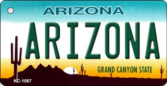 Arizona State License Plate Key Chain KC-1067