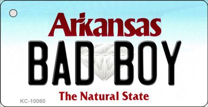 Bad Boy Arkansas State License Plate Key Chain KC-10060