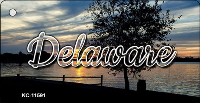 Delaware River Sunset Key Chain KC-11591