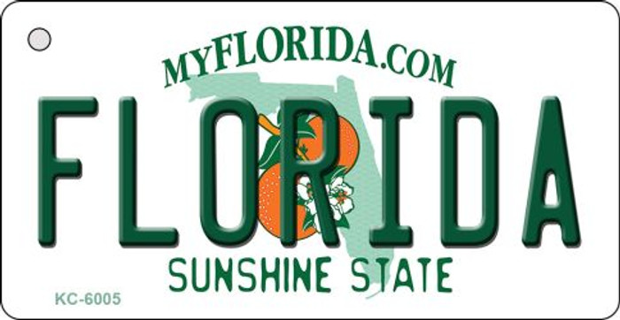Florida State License Plate Key Chain KC-6005