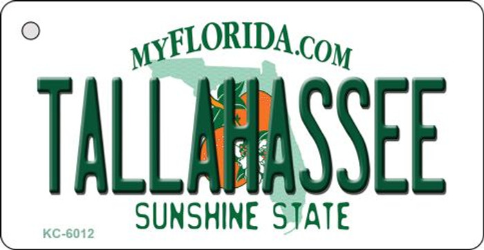 Tallahassee Florida State License Plate Key Chain KC-6012