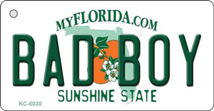 Bad Boy Florida State License Plate Key Chain KC-6030