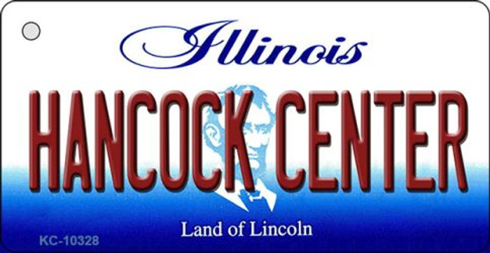 Hancock Center Illinois State License Plate Key Chain KC-10328
