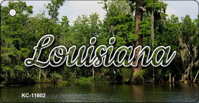 Louisiana Swamp Key Chain KC-11602