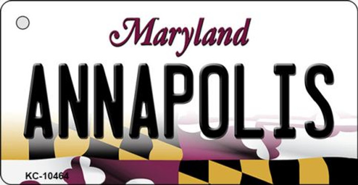 Annapolis Maryland State License Plate Key Chain KC-10464