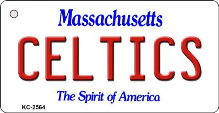 Celtics Massachusetts State License Plate Key Chain KC-2564