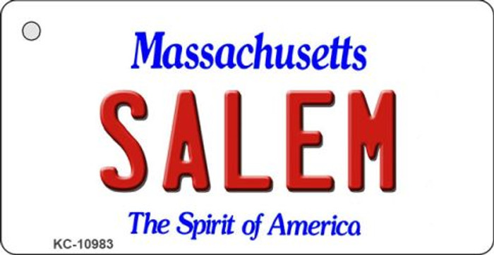 Salem Massachusetts State License Plate Novelty Key Chain KC-10983