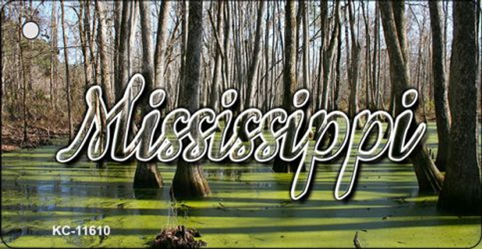Mississippi Swamp Key Chain KC-11610