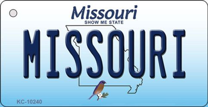 Missouri State License Plate Key Chain KC-10240