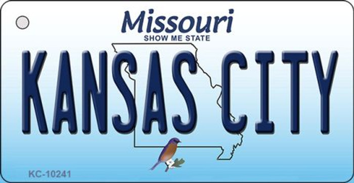 Kansas City Missouri State License Plate Key Chain KC-10241