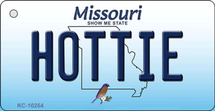 Hottie Missouri State License Plate Key Chain KC-10254
