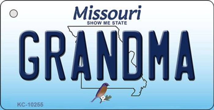 Grandma Missouri State License Plate Key Chain KC-10255