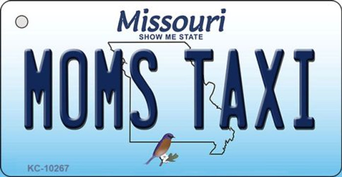 Moms Taxi Missouri State License Plate Key Chain KC-10267